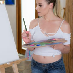 Aubrey Sinclair in 'Twistys' Painting Her Pussy (Thumbnail 6)