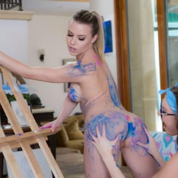 Aubrey Sinclair in 'Twistys' Painting Her Pussy (Thumbnail 42)