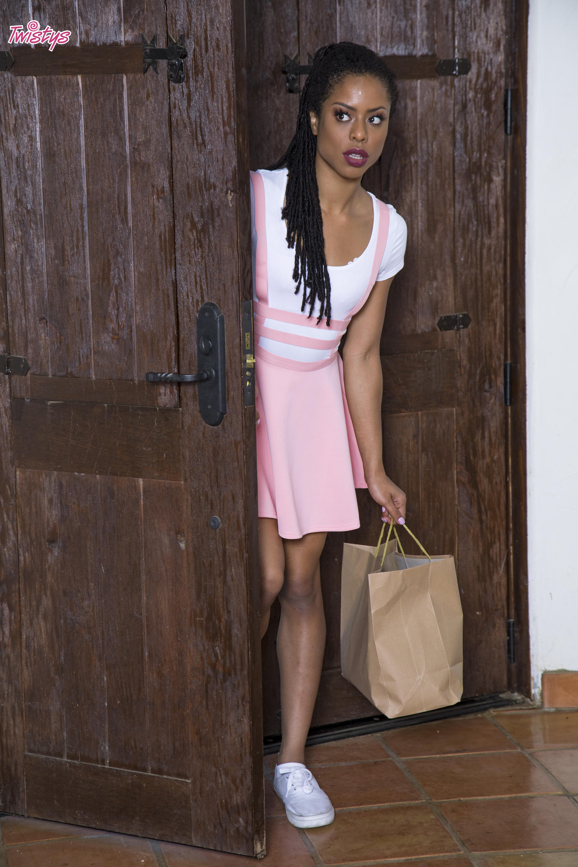 Twistys 'Another Kind of Party' starring Kira Noir (Photo 6)