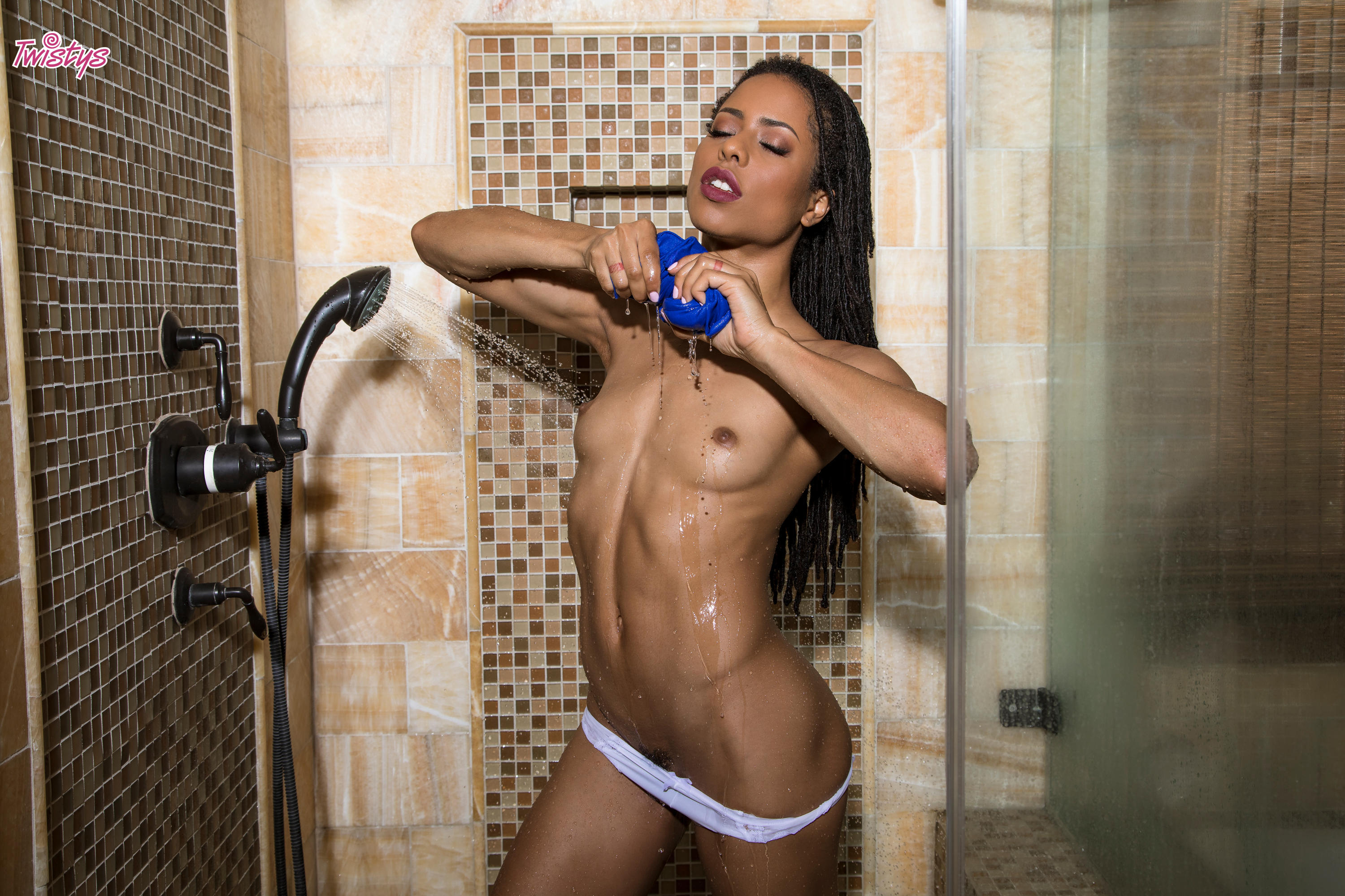 Twistys 'Drip Drip Drop' starring Kira Noir (Photo 15)
