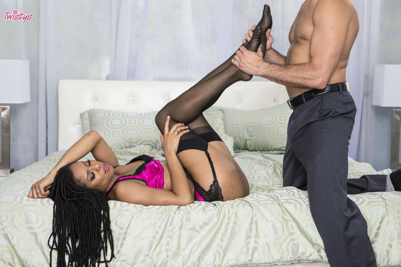 Twistys 'Focus On: Footplay' starring Kira Noir (Photo 36)