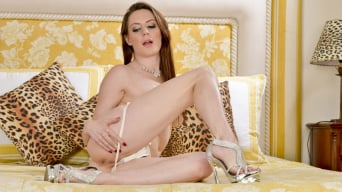 Samantha Bentley in 'The Leopard's Den'