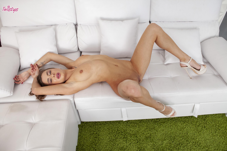 Twistys 'Makeshift Cardboard Gloryhole' starring Sandra Wellness (Photo 10)
