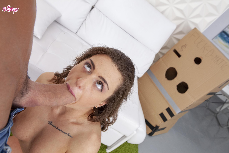 Twistys 'Makeshift Cardboard Gloryhole' starring Sandra Wellness (Photo 55)